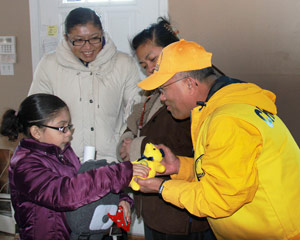 Turning tears to joy for Sandy survivors